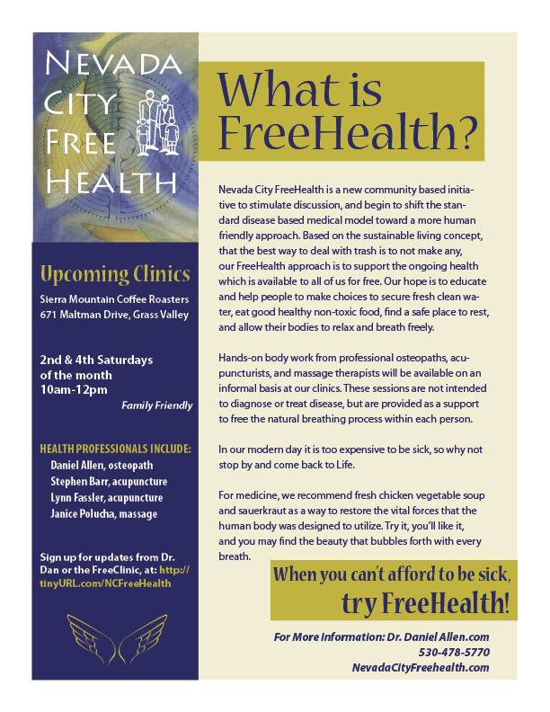 FreeHealth Flyer
